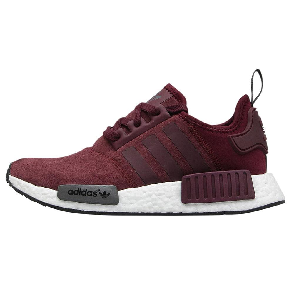 premium selection 3e7b1 8c372 Adidas NMD_R1 Runner Suede W Maroon