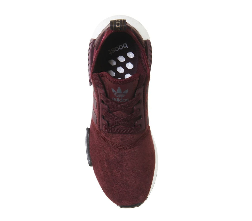 official photos ee3a6 4530d Adidas NMD_R1 Runner Suede W Maroon – Kick Game