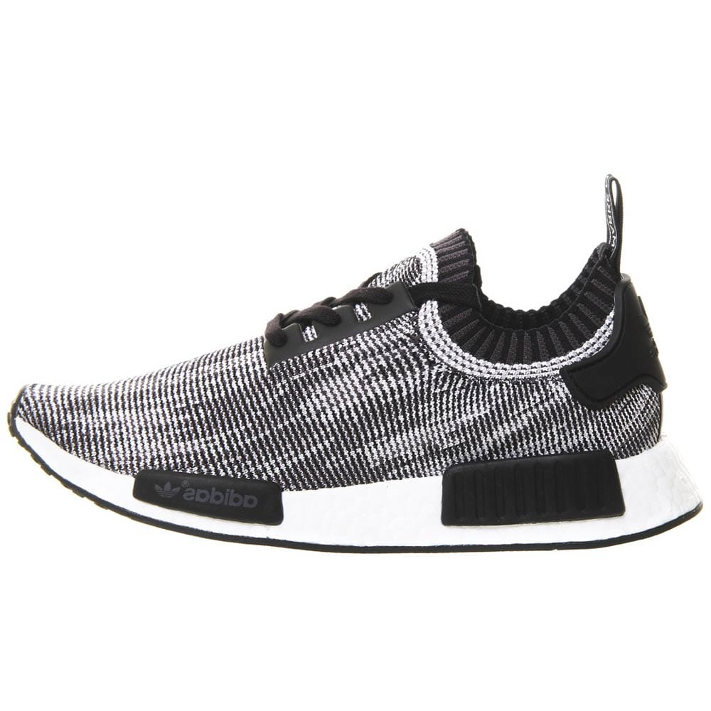 Adidas NMD Primeknit Black White - Kick Game