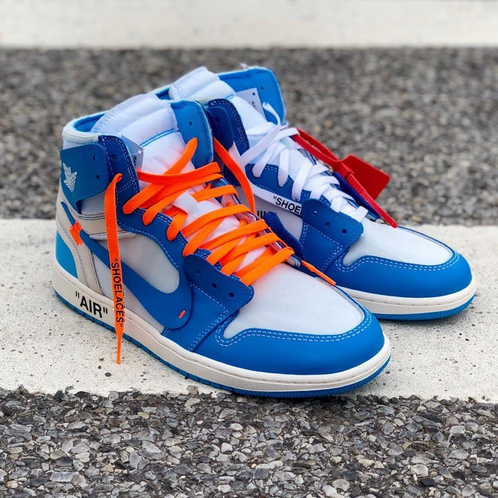 Off-White x Air Jordan 1 NRG UNC The Ten - Kick Game
