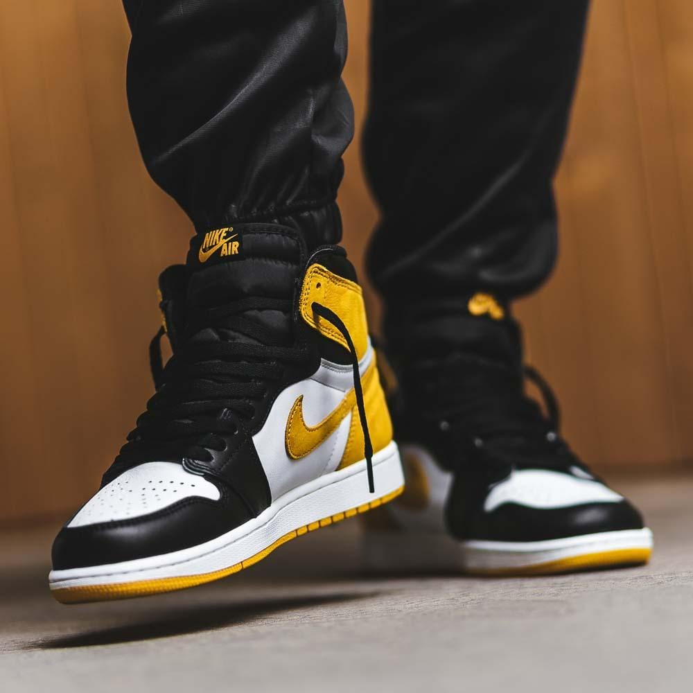 Jordan 1 Retro High Yellow Ochre New