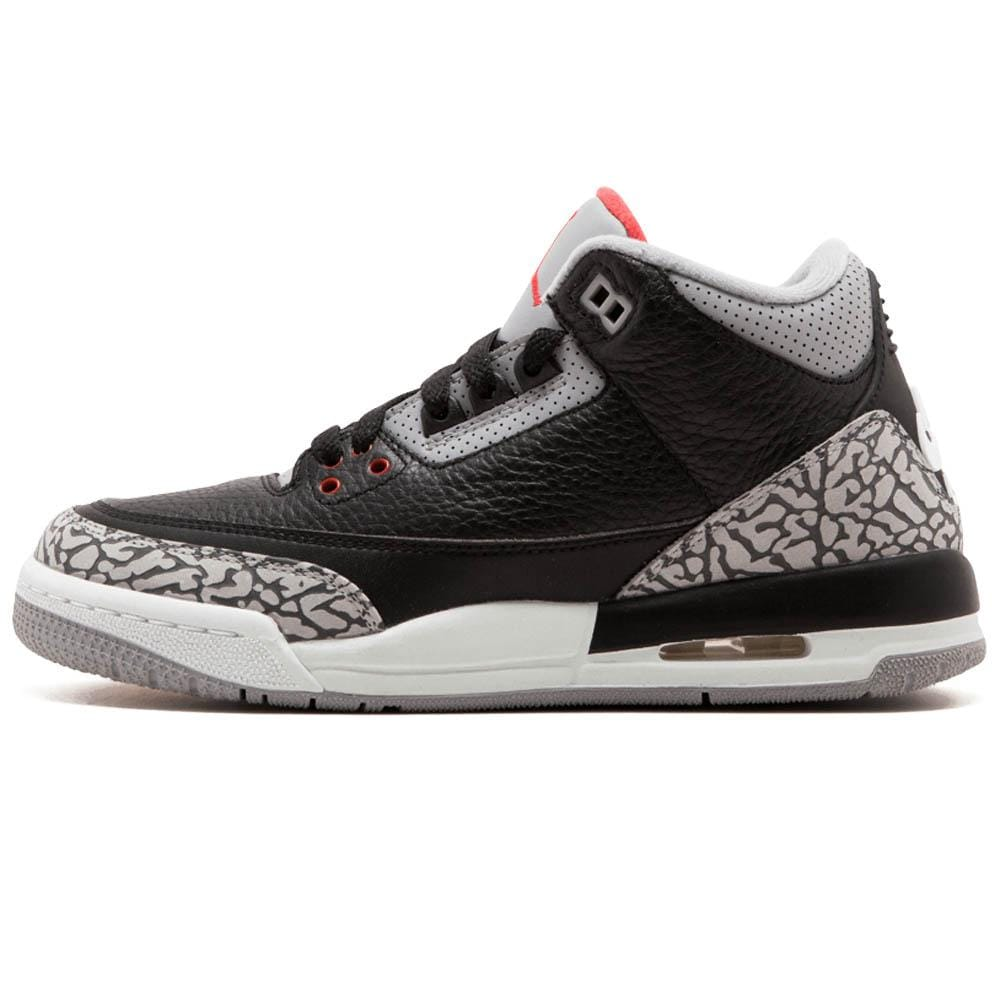 huge discount 6ab8b 84021 Air Jordan 3 Retro OG GS 'Black Cement' 2018