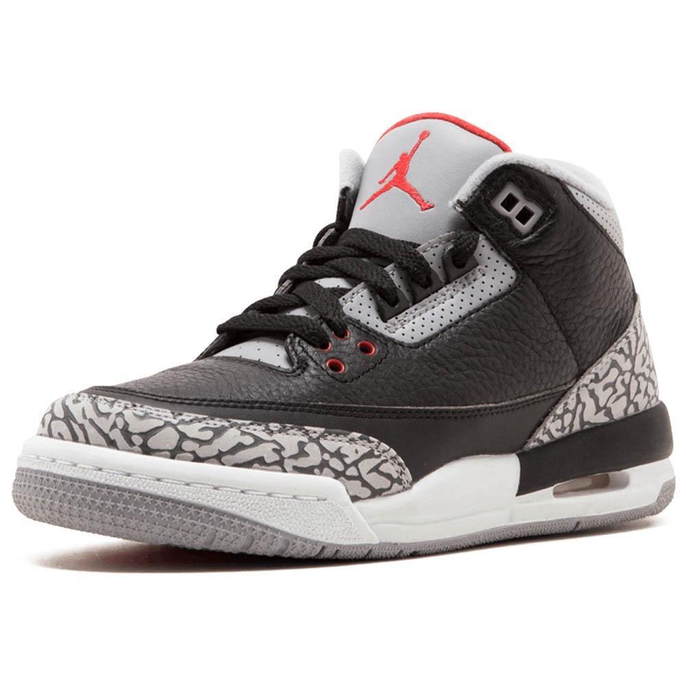 huge discount d7b46 3b7b1 Air Jordan 3 Retro OG GS 'Black Cement' 2018