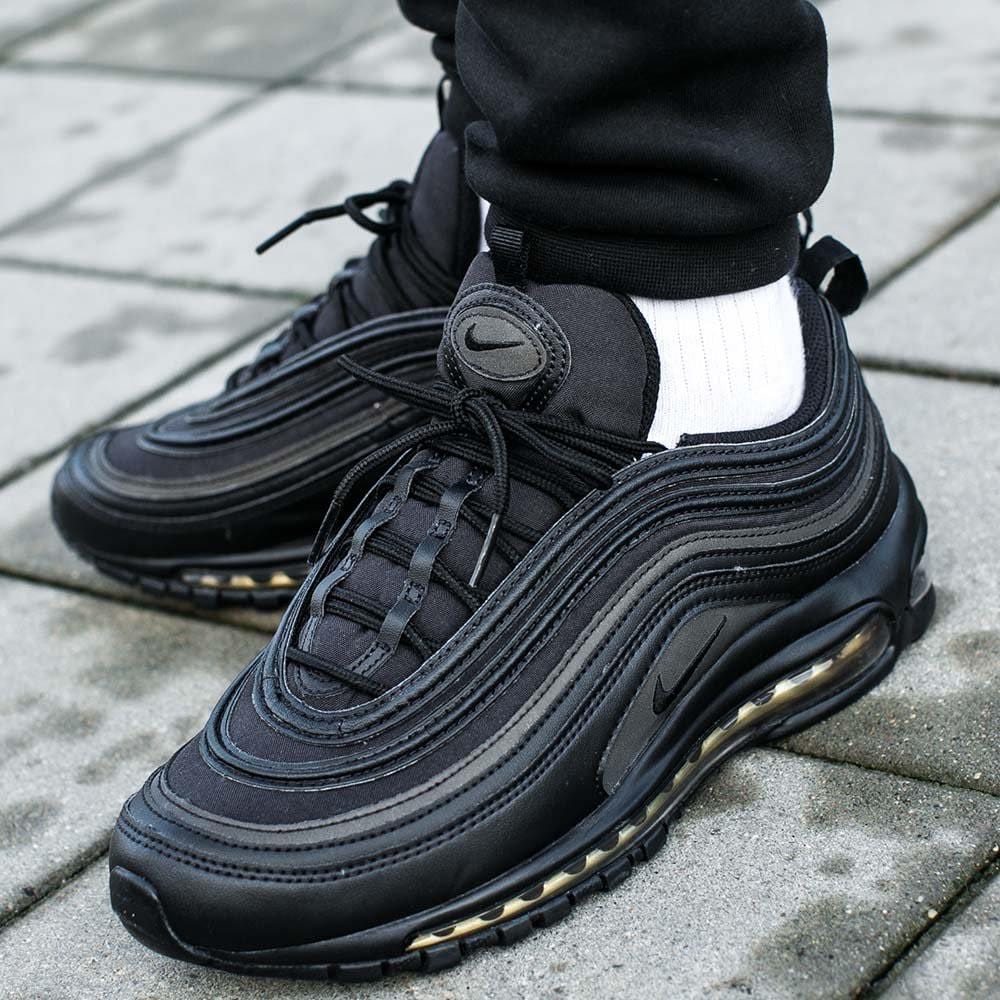 huge selection of c10ac 3ab22 Nike Air Max 97 Black Gold