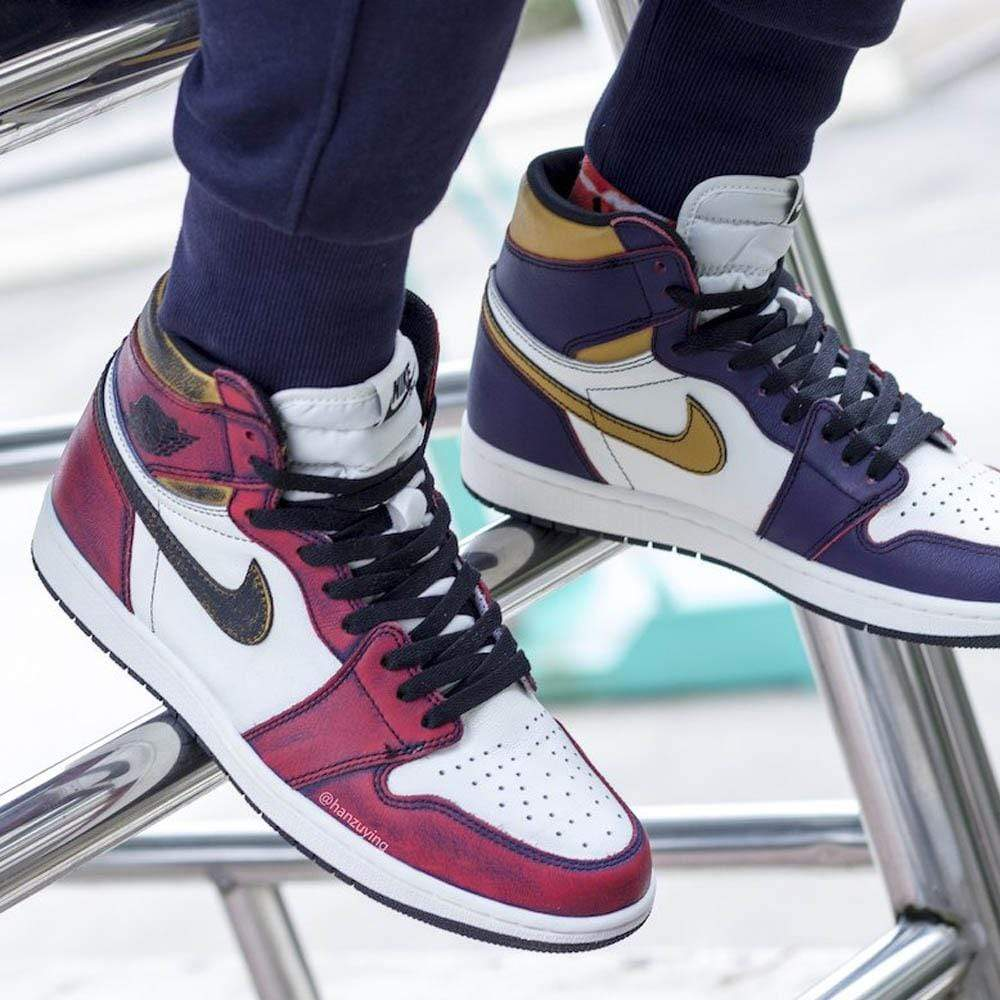 Air Jordan 1 Retro High SB 'LA To Chicago' - Kick Game