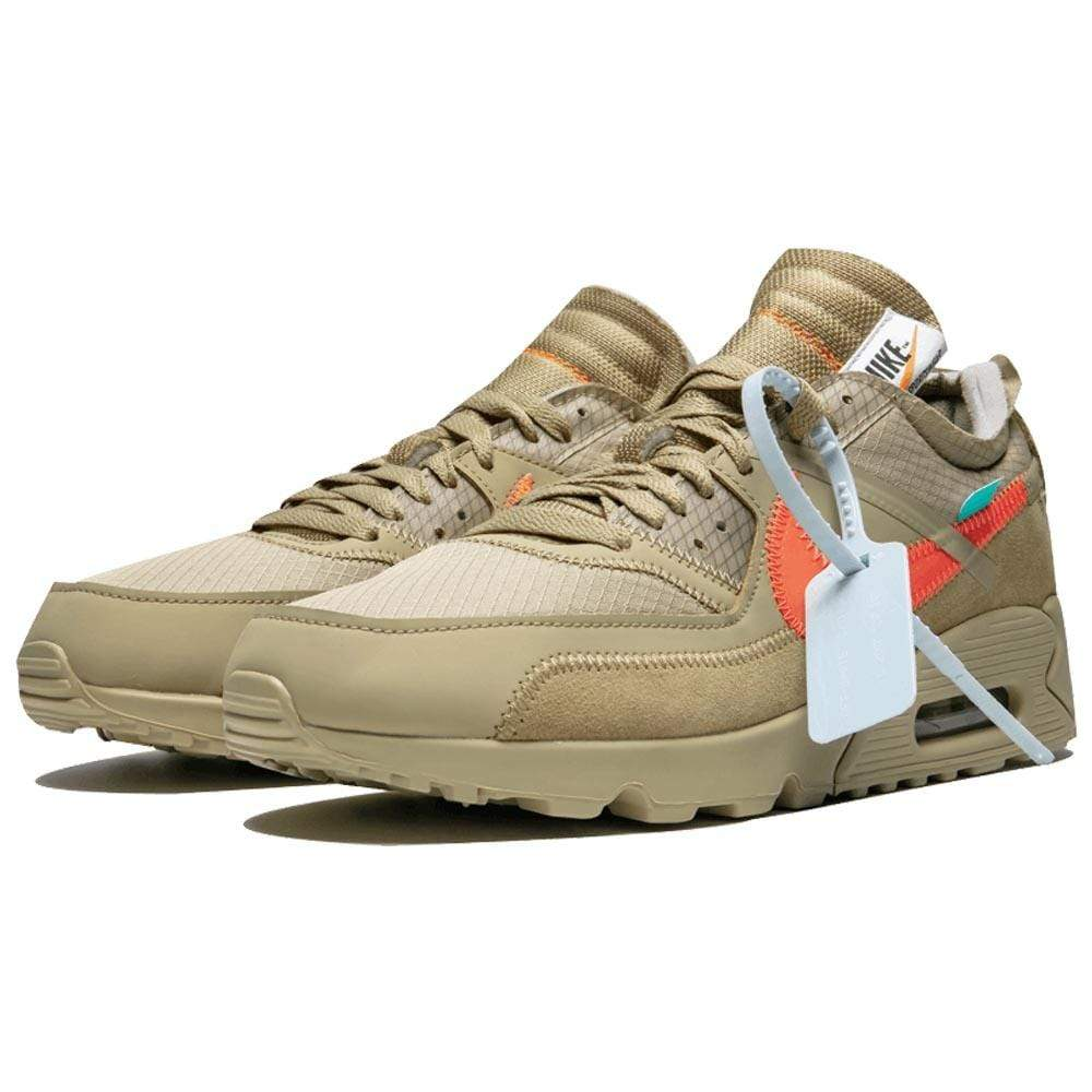 Off-White x Nike Air Max 90 Desert Ore