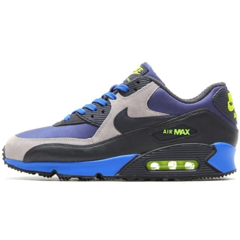 "Nike Air Max 90 Winter PRM ""Blue Recall-Dark Obsidian-Flat Silver"" - Kick Game"