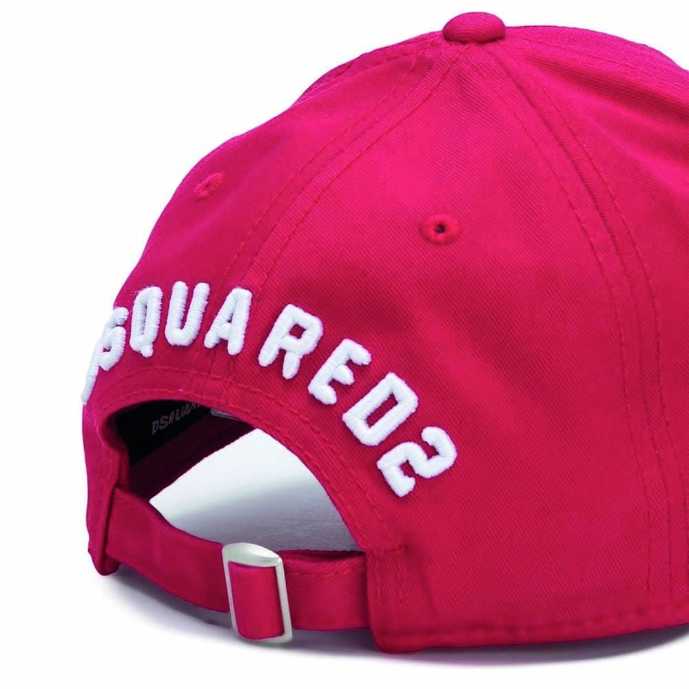 25d38d35a DSQUARED2 Icon Baseball Cap Red