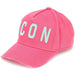 DSQUARED2 Icon Baseball Cap Pink - Kick Game