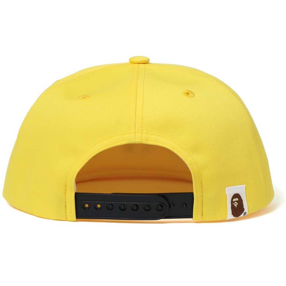 Bape Sequin Snap Back Cap Yellow - Kick Game