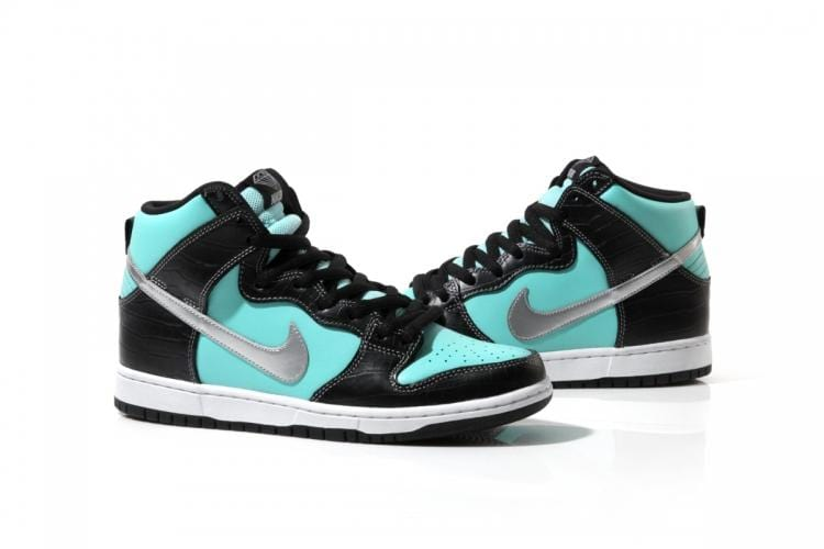 Diamond x Nike SB Tiffany Dunk High - Kick Game