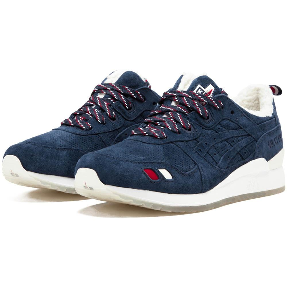 detailed look 1c495 b06d8 Kith x Moncler x Asics Gel Lyte 3 'Navy'