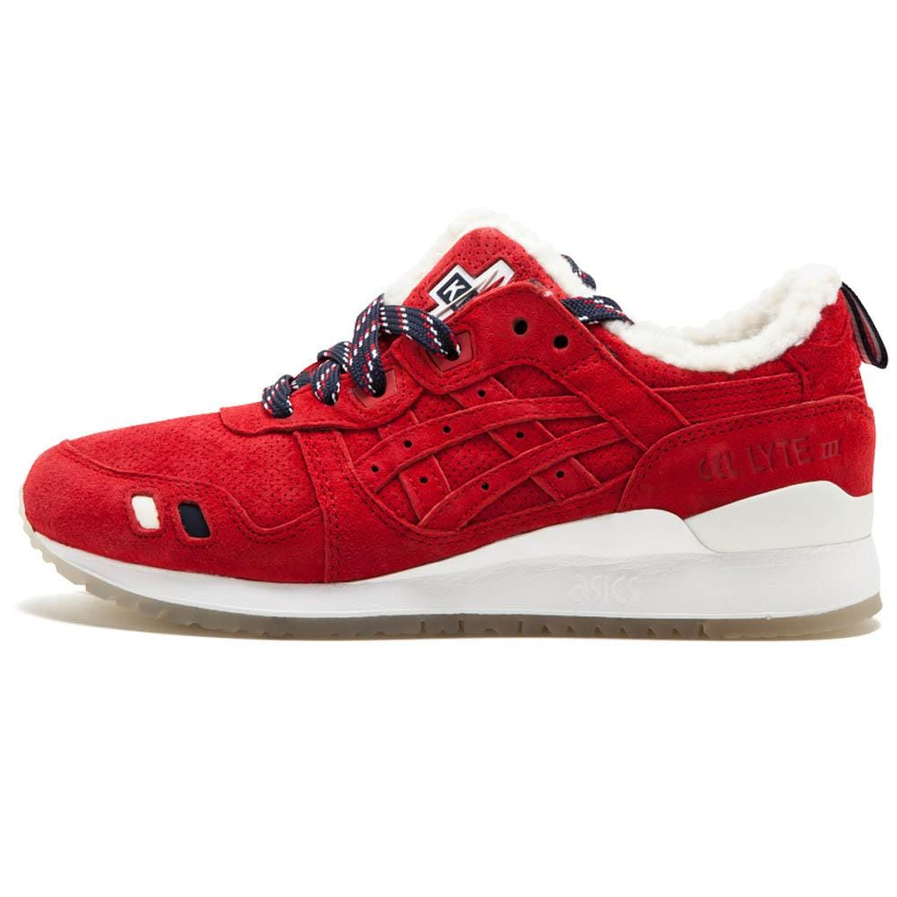 the latest 61c94 b4627 Kith x Moncler x Asics Gel Lyte 3 'Red'
