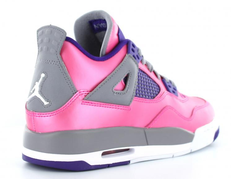 Air Jordan IV (4) GS Pink Foil - Kick Game