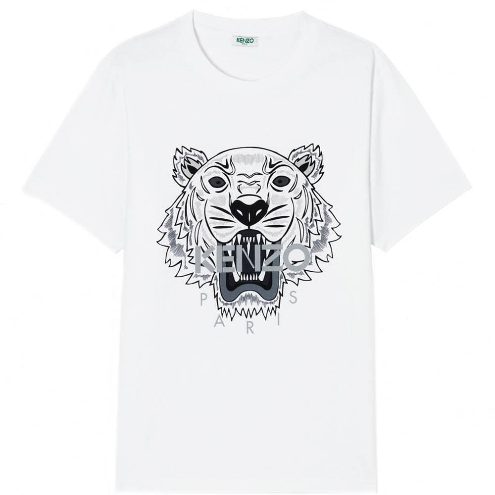 Kenzo Tiger T-Shirt White - Kick Game