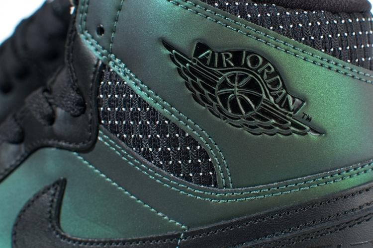 Nike SB Air Jordan 1 QS 'Iridescent Green-Black' - Kick Game