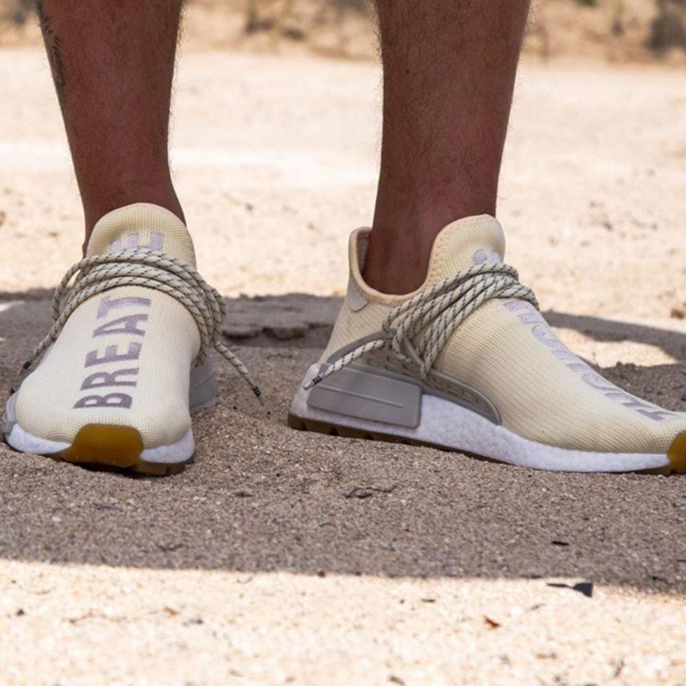 Pharrell x adidas NMD Human Race Gum Pack Cream - Kick Game