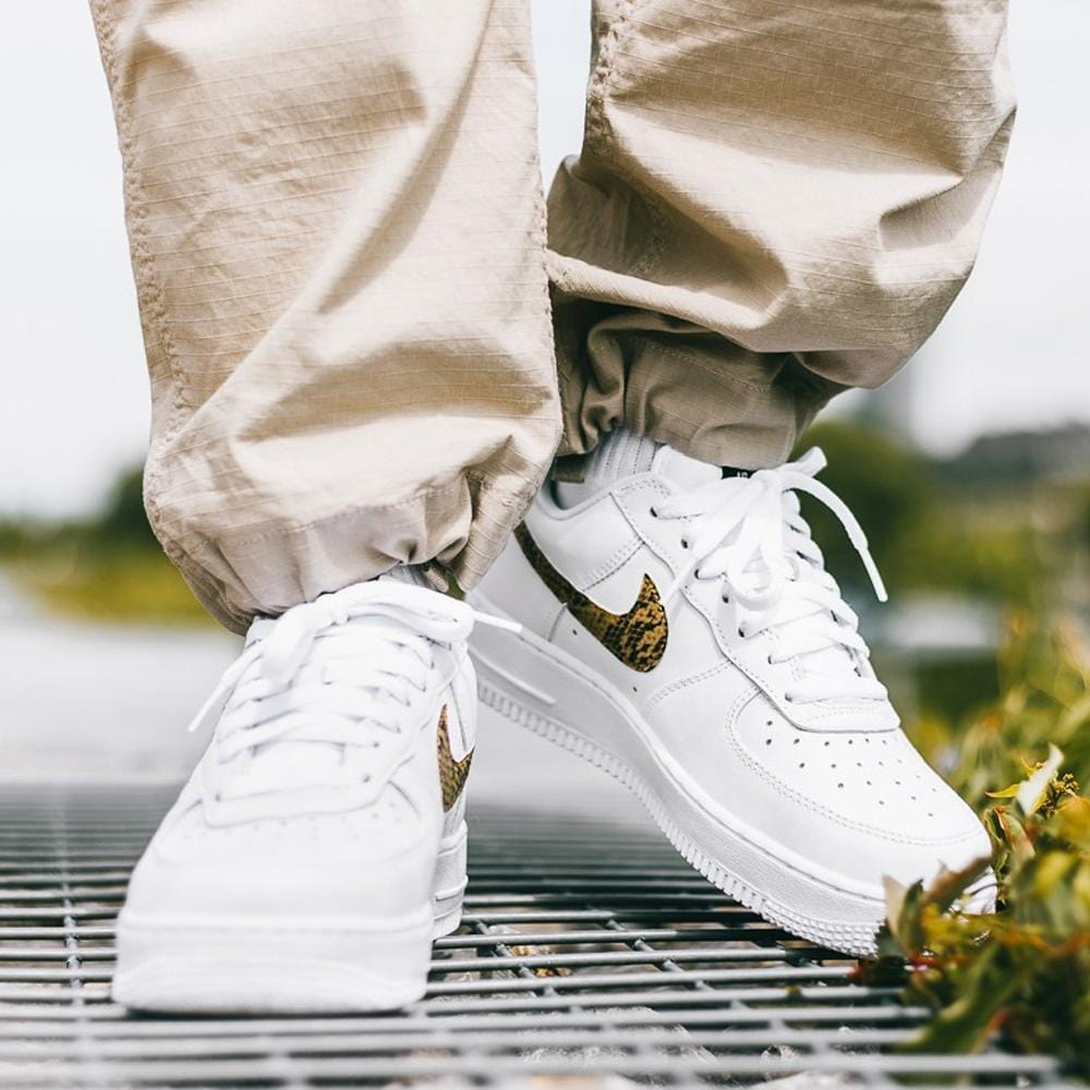 Nike Air Force 1 Low PRM Ivory Snake - Kick Game