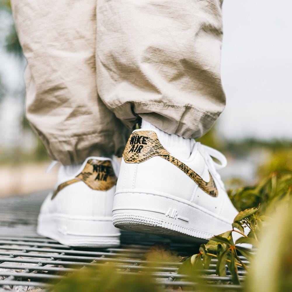 Nike Air Force 1 Low PRM Ivory Snake