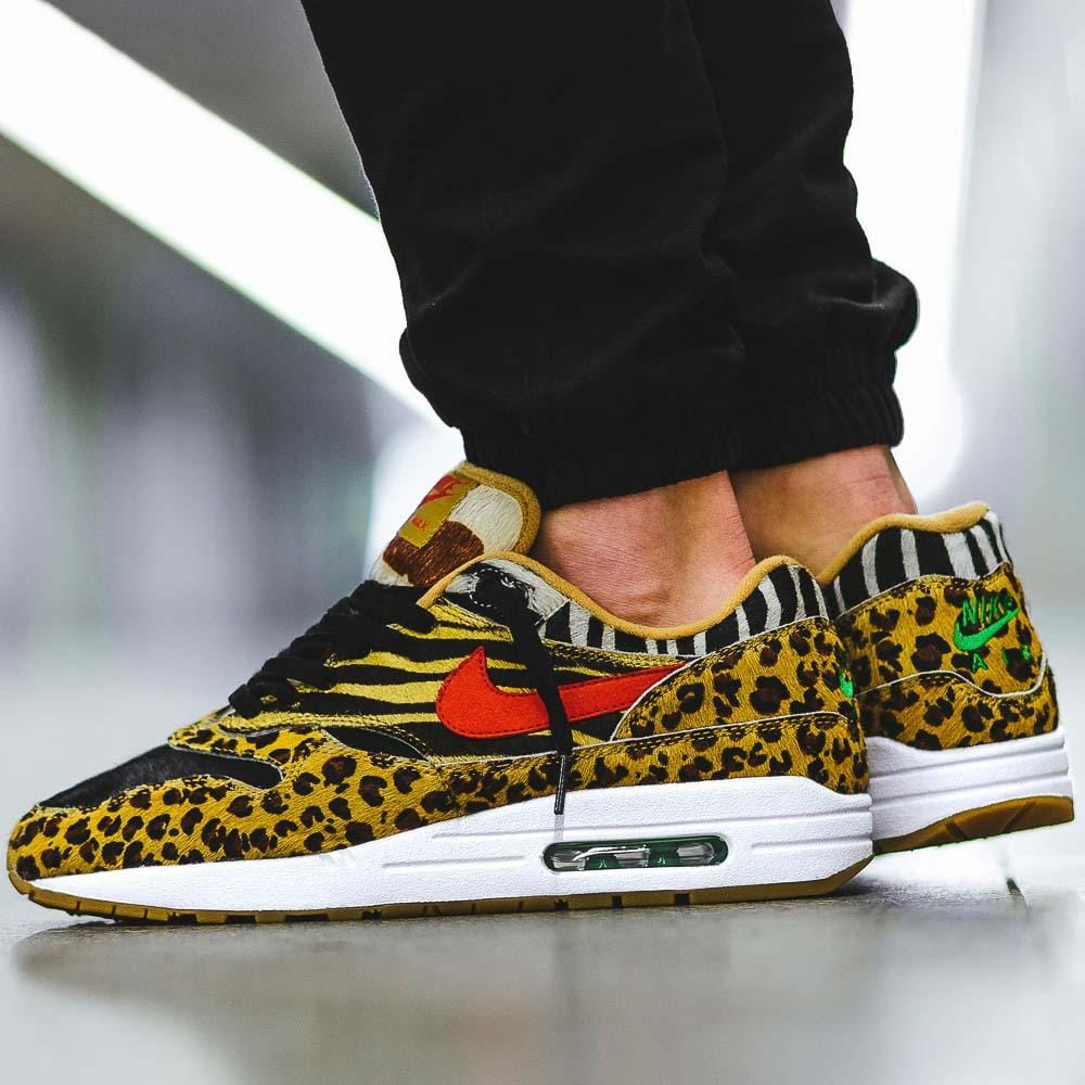 Nike Air Max 1 DLX x Atmos Animal Pack 2018