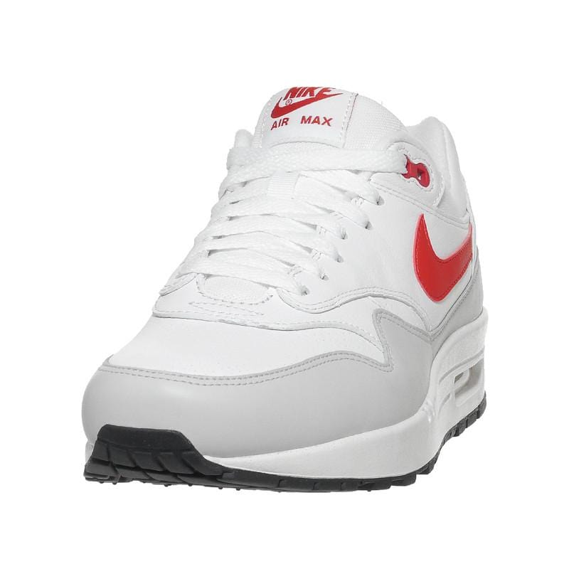 Nike Air Max 1 'Leather' White-University Red - Kick Game