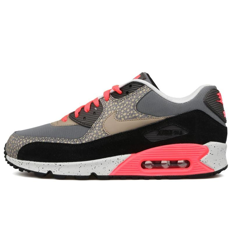 Nike Air Max 90 PRM Safari-Black-Grey