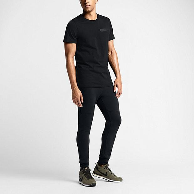 NIKE TECH FLEECE MEN'S TROUSERS - Black - Kick Game
