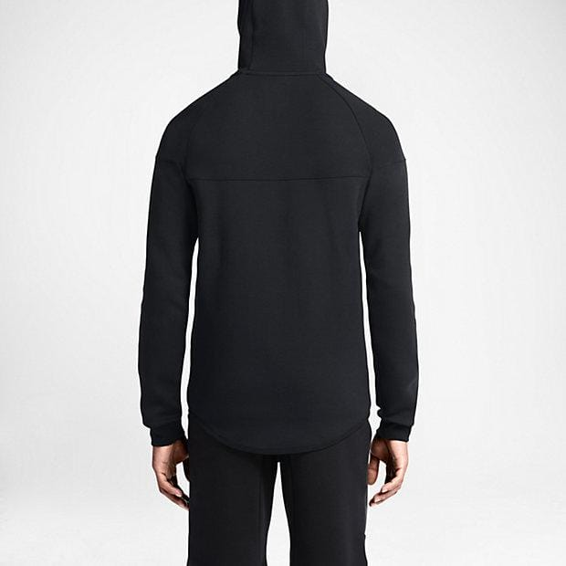 NIKE TECH FLEECE WINDRUNNER MEN'S HOODIE - Black