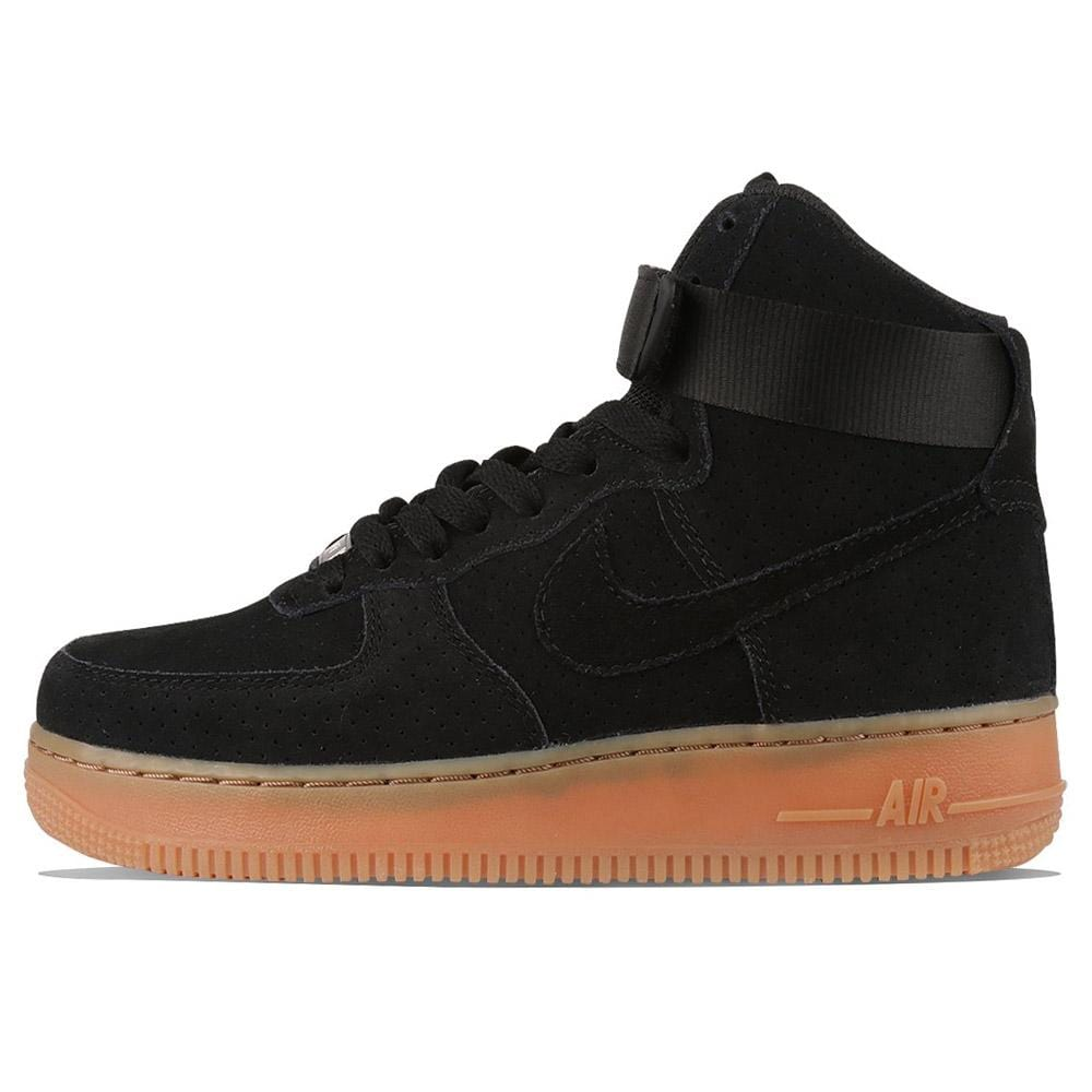 Nike WMNS Air Force 1 Hi Suede Black - Kick Game