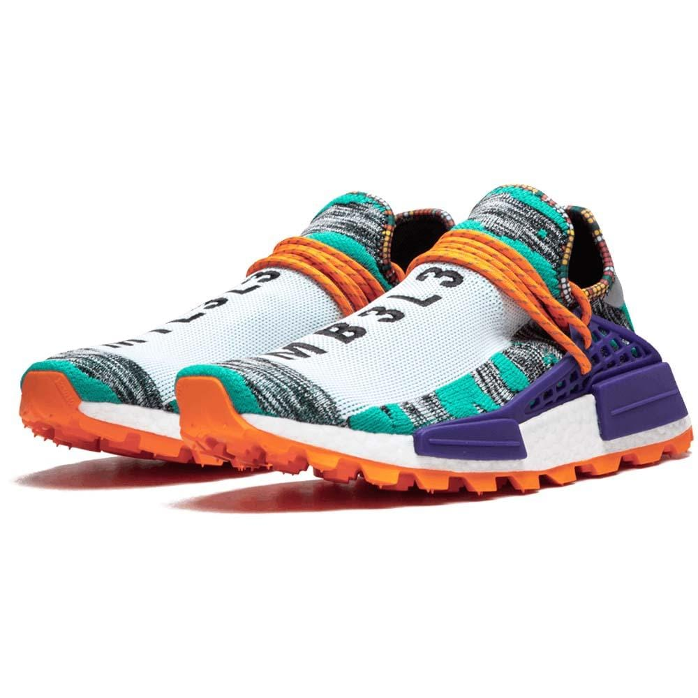 pick up 47049 599db Pharrell x adidas Afro NMD Hu Pack Aqua Multi