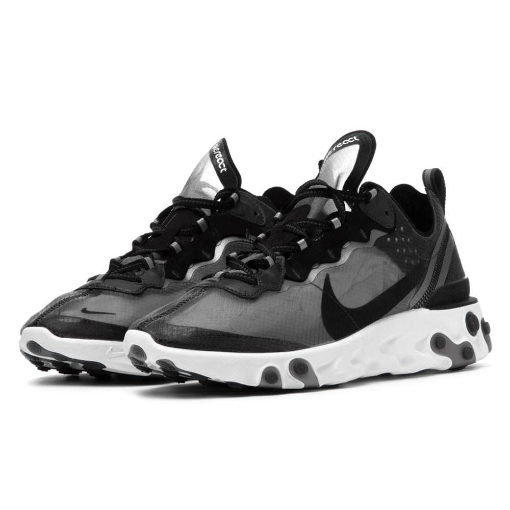 3b6cc8e9217b1 Nike React Element 87 Black White