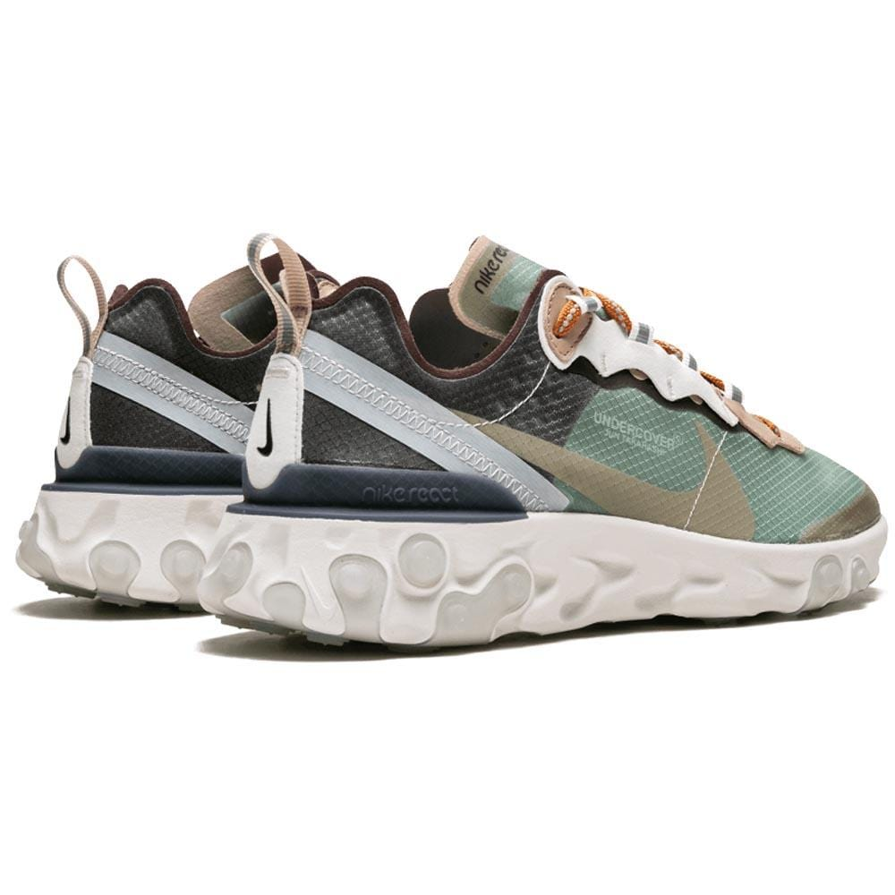 Undercover x Nike React Element 87 Green Black - Kick Game