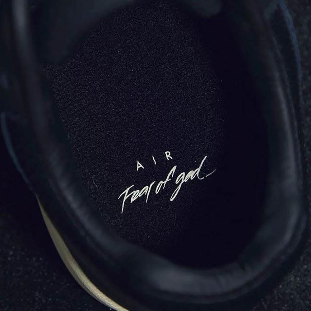 Fear of God x Nike Air Skylon II Black - Kick Game