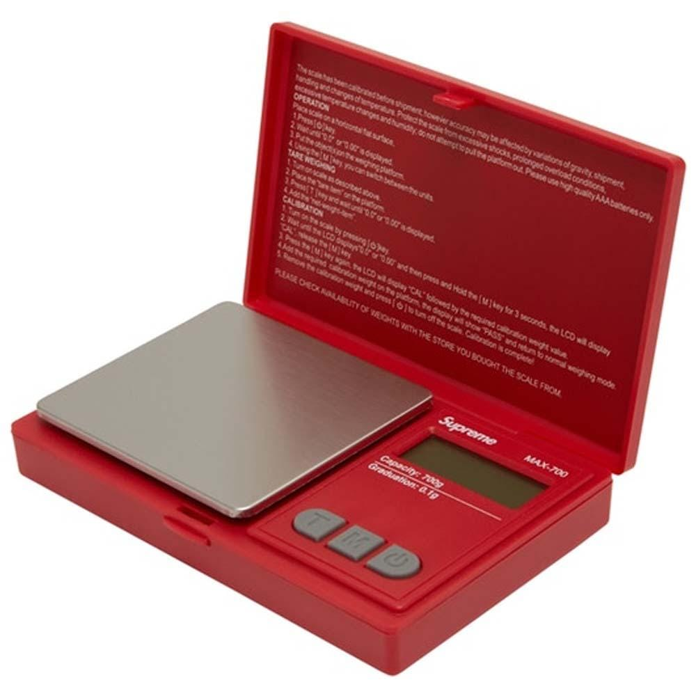Supreme AWS MAX-700 Digital Scale Red - Kick Game