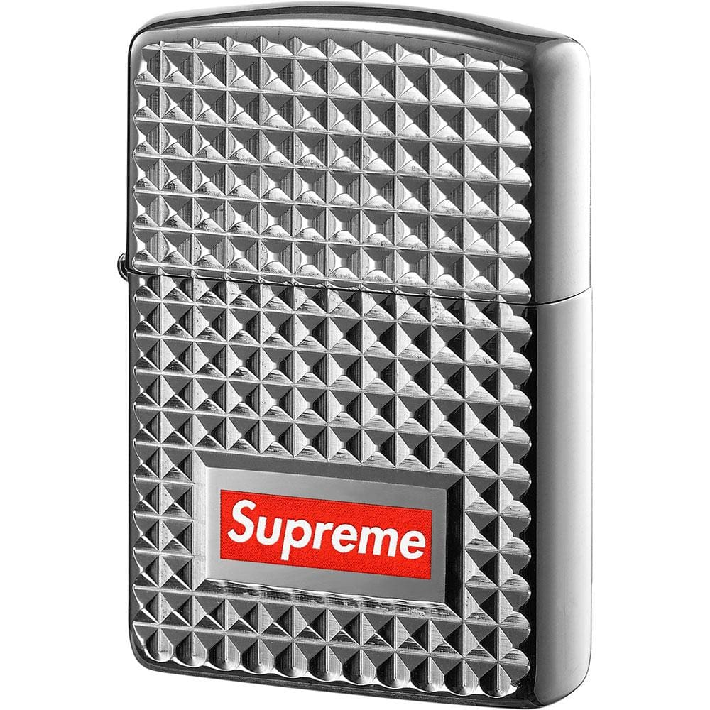 Supreme Diamond Cut Zippo Silver - Kick Game