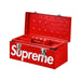 Supreme Diamond Plate Tool Box Red - Kick Game