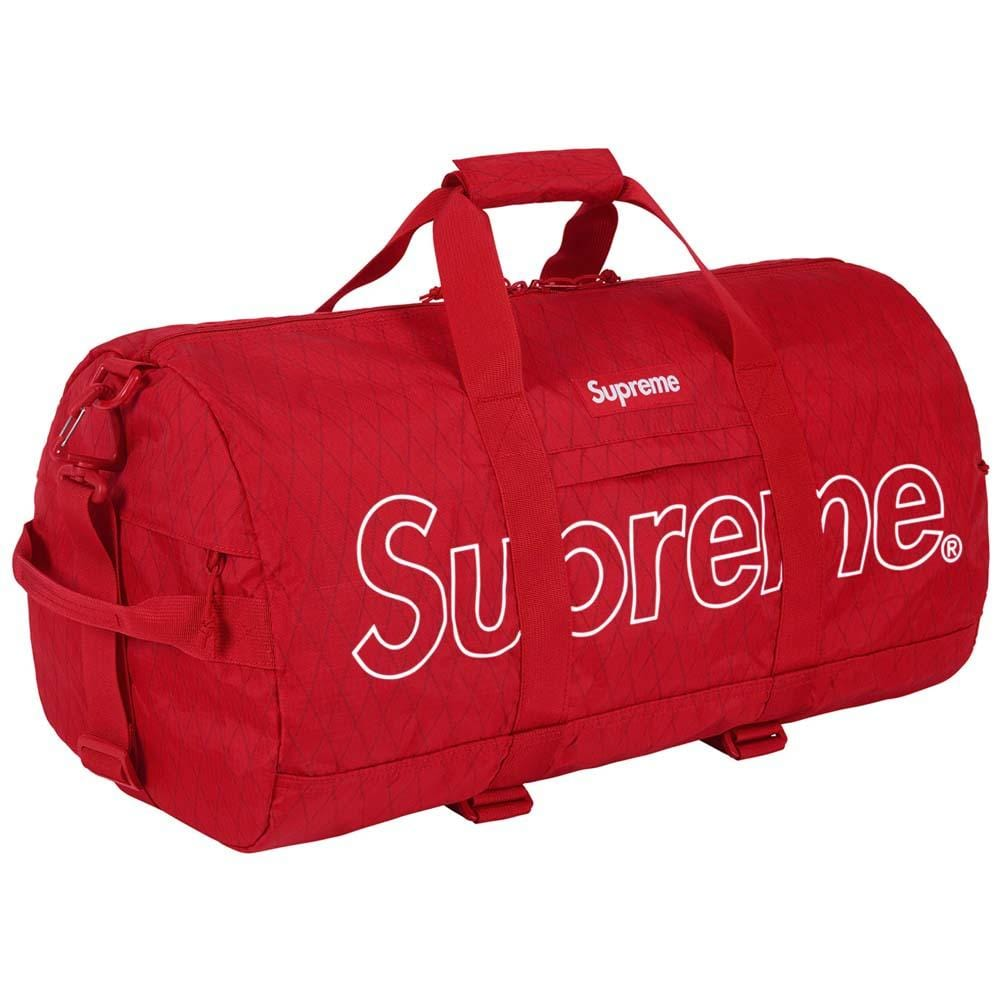 Supreme Duffle Bag (FW18) Red - Kick Game