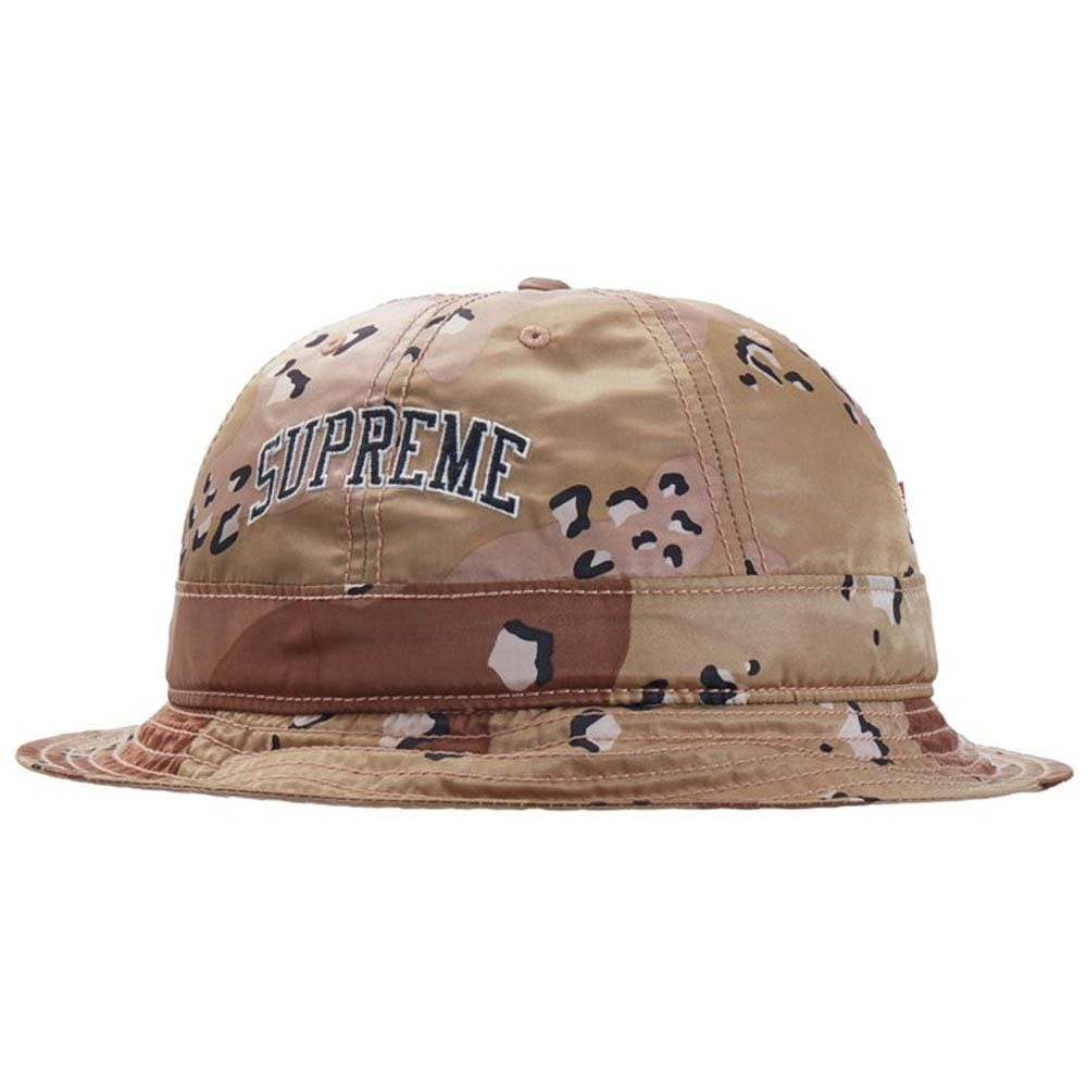 Supreme Levi's Nylon Bell Hat Chocolate Chip Camo - Kick Game