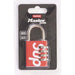 Supreme Masterlock Numeric Lock Red - Kick Game