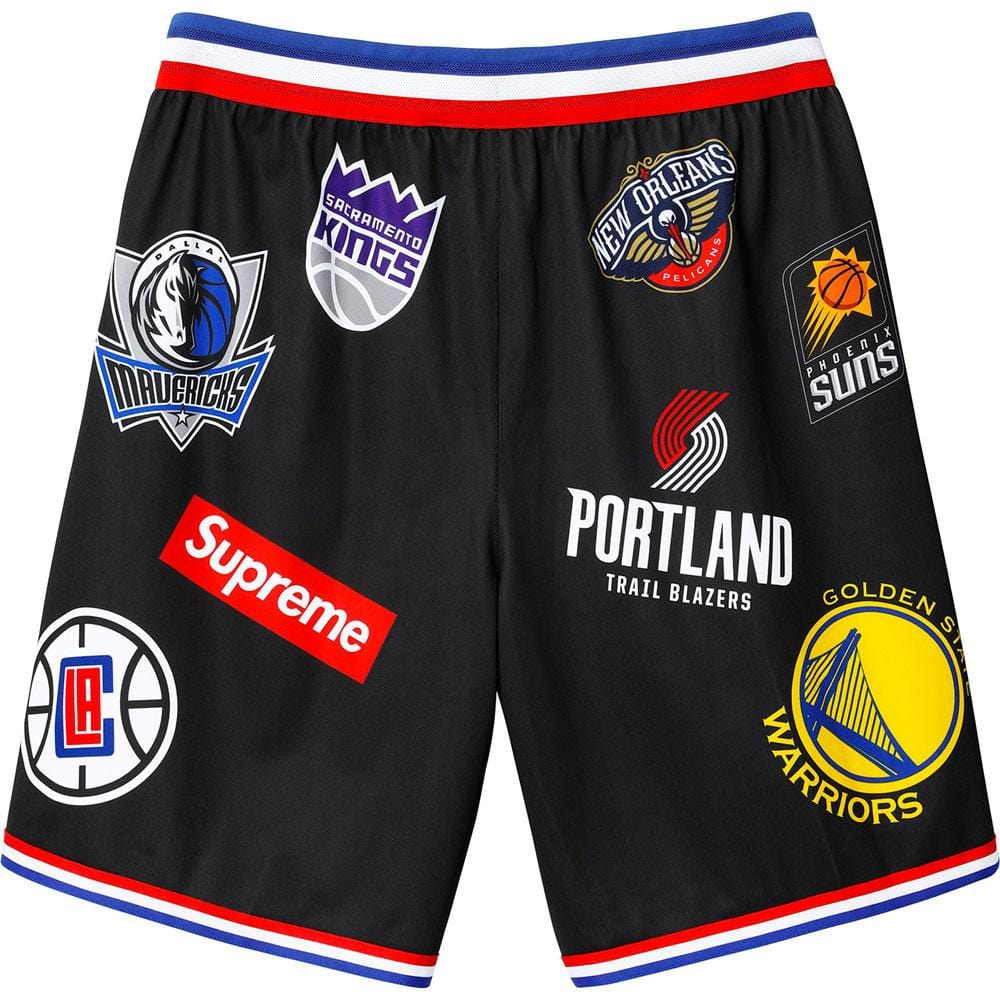 Supreme Nike-NBA Teams Authentic Short Black - Kick Game