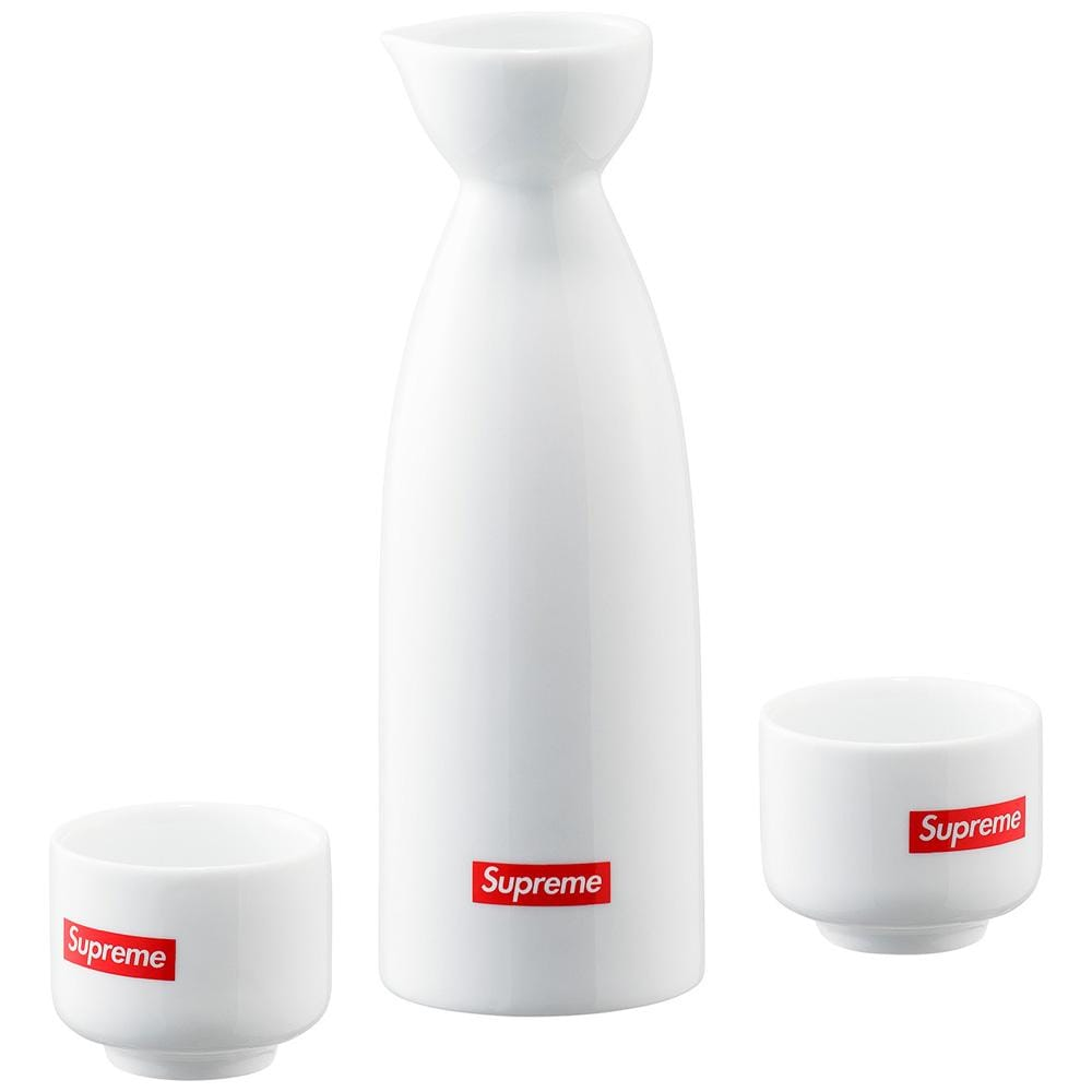 Supreme Sake Set - White - Kick Game