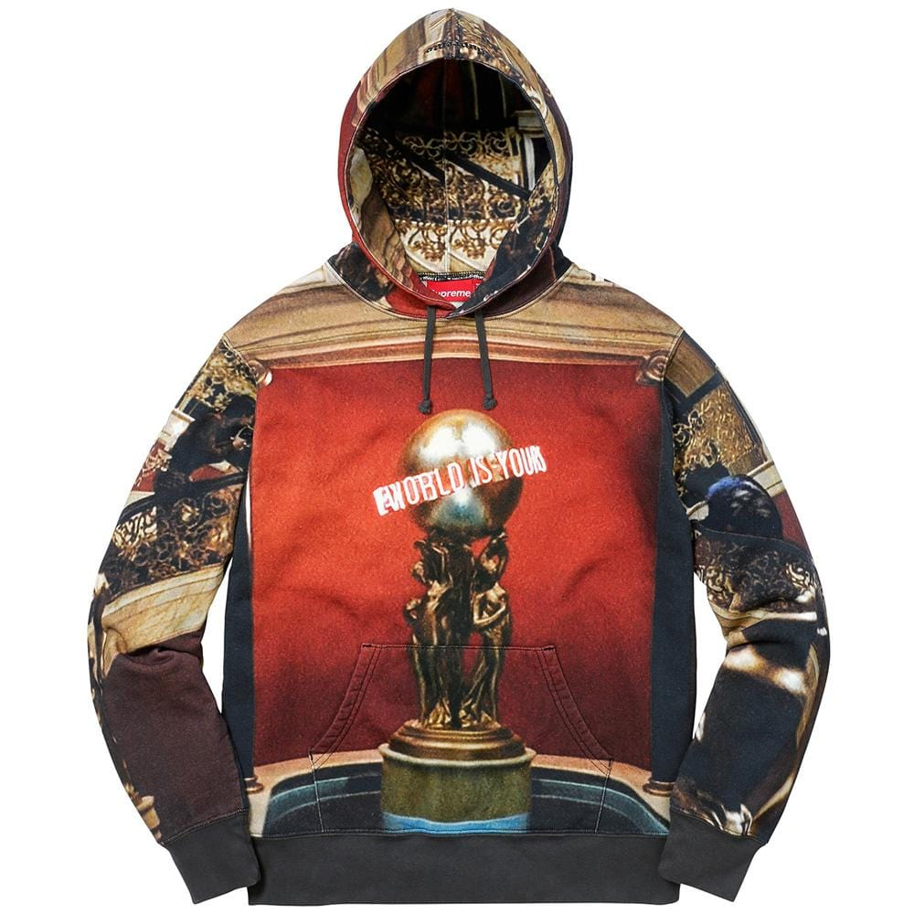 Supreme Scarface Hooded Sweatshirt - Multicolor - Kick Game