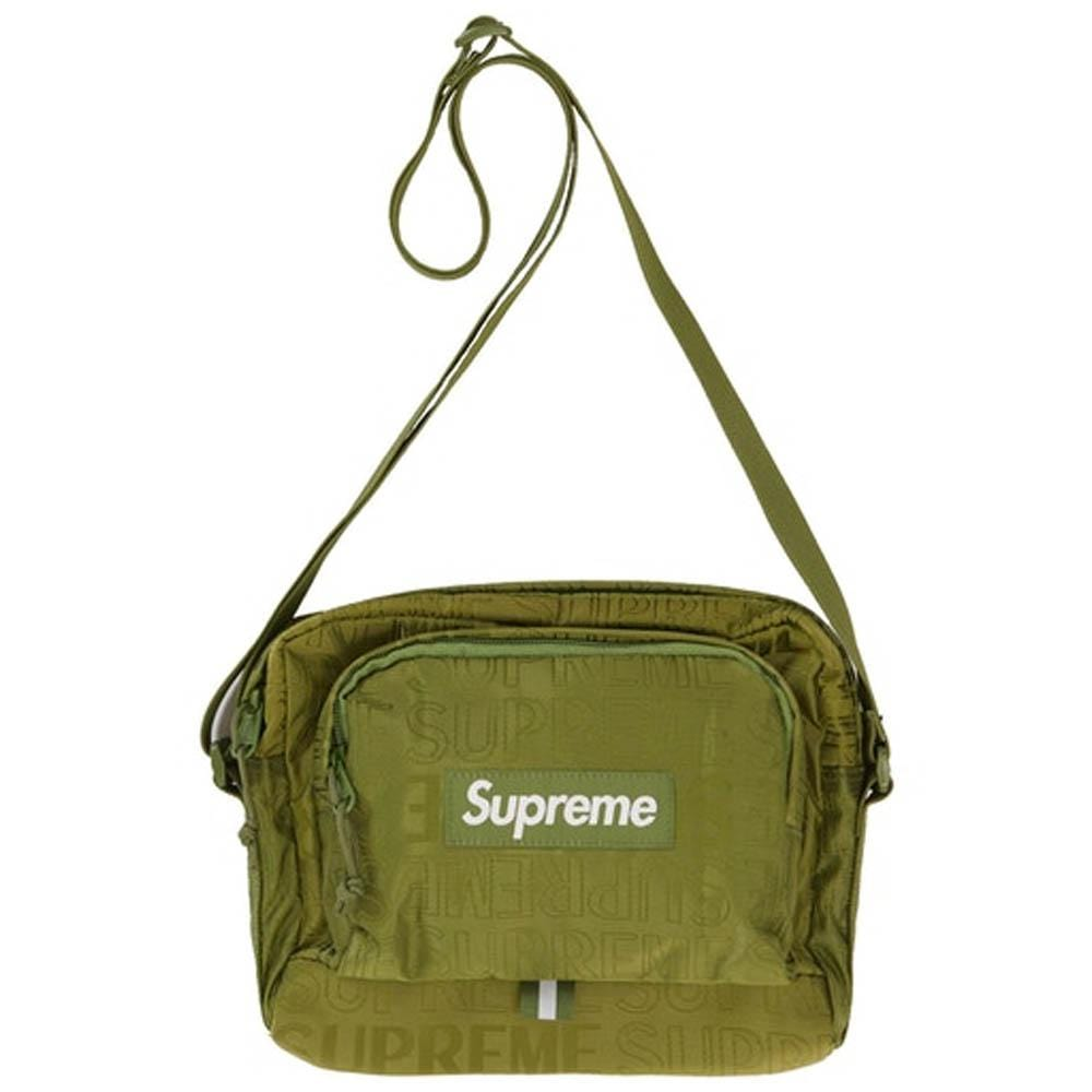 Supreme Shoulder Bag (SS19) Olive - Kick Game