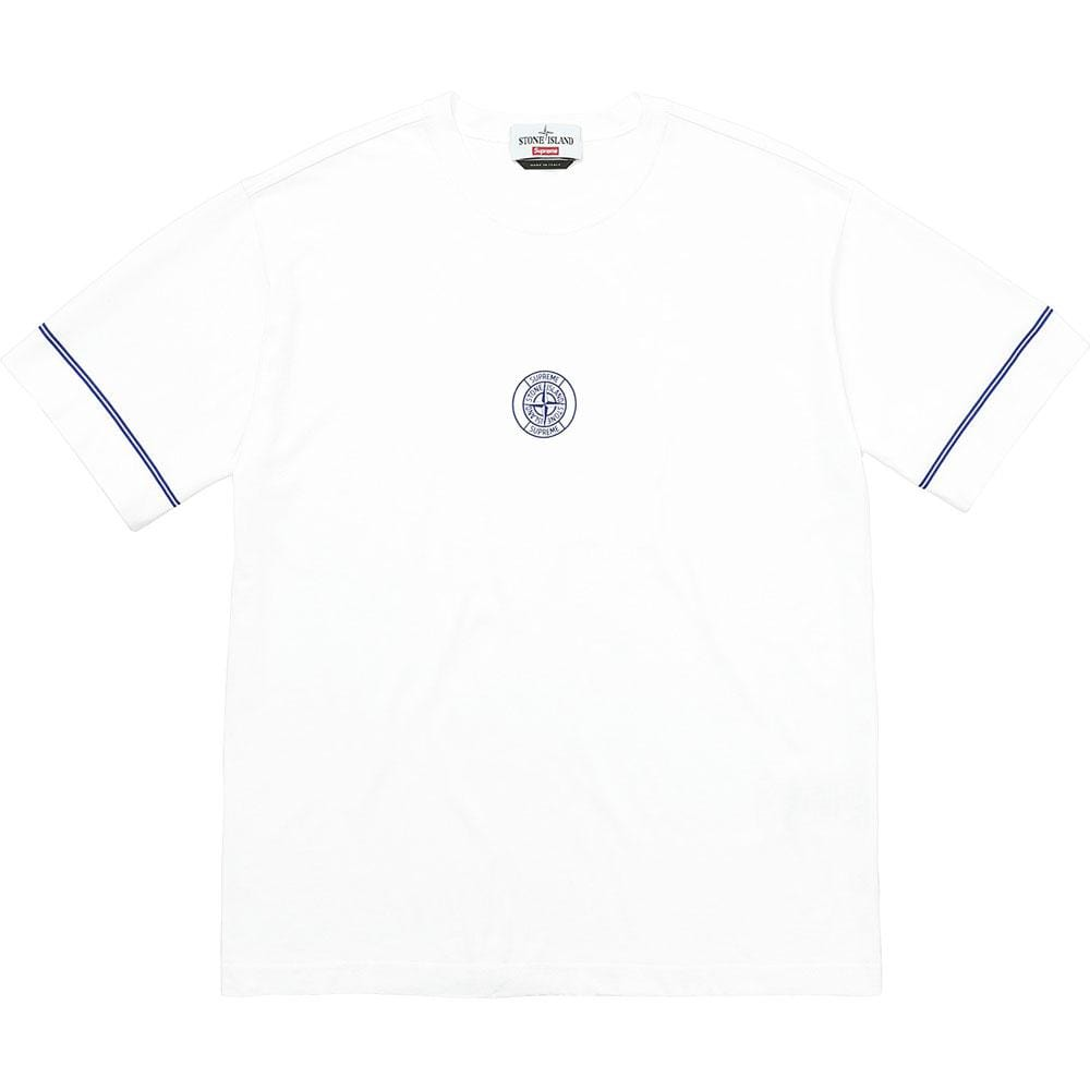 Supreme Stone Island S-S Top - White