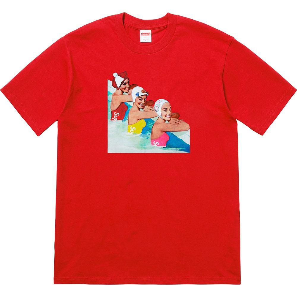 Supreme Swimmers Tee Red - Kick Game