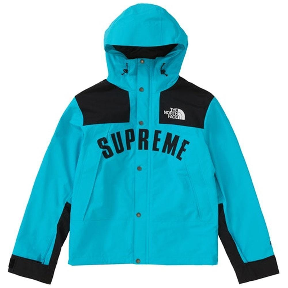 Supreme The North Face Arc Logo Mountain Parka Teal - Kick Game