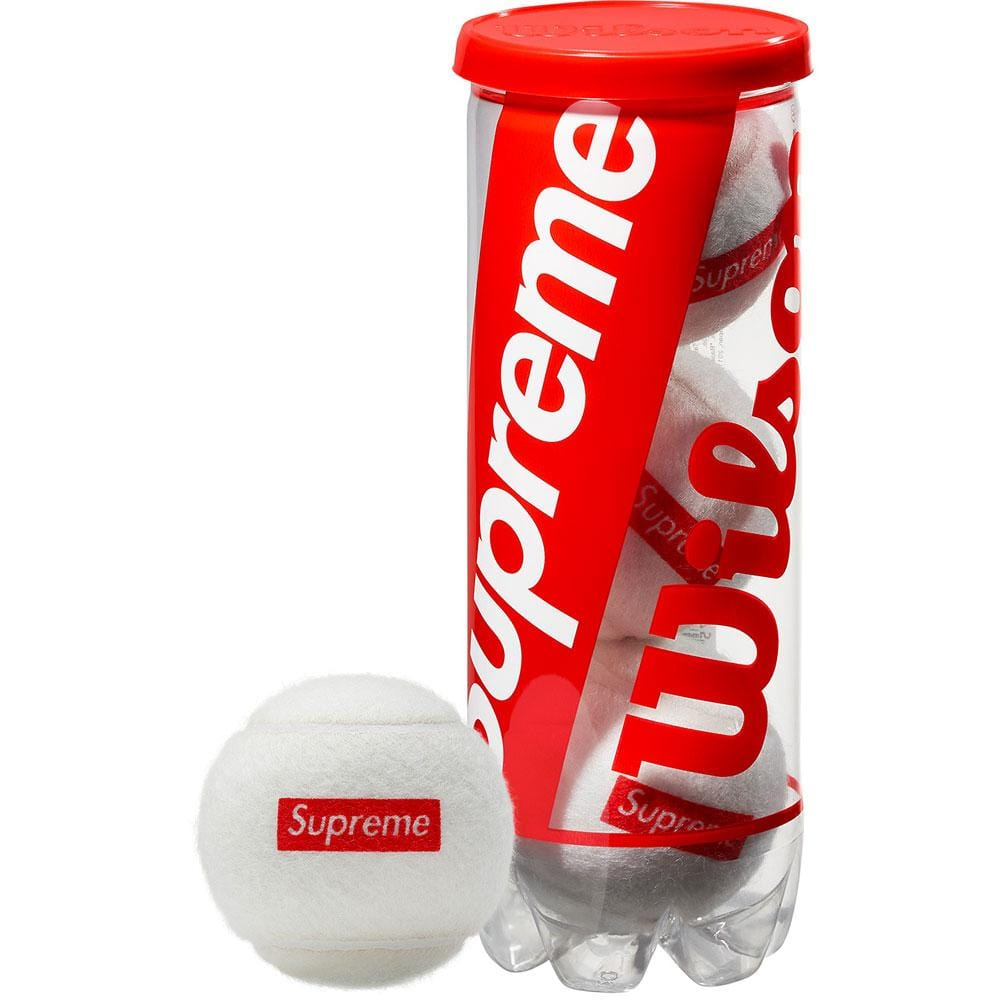 Supreme Wilson Tennis Balls White - Kick Game