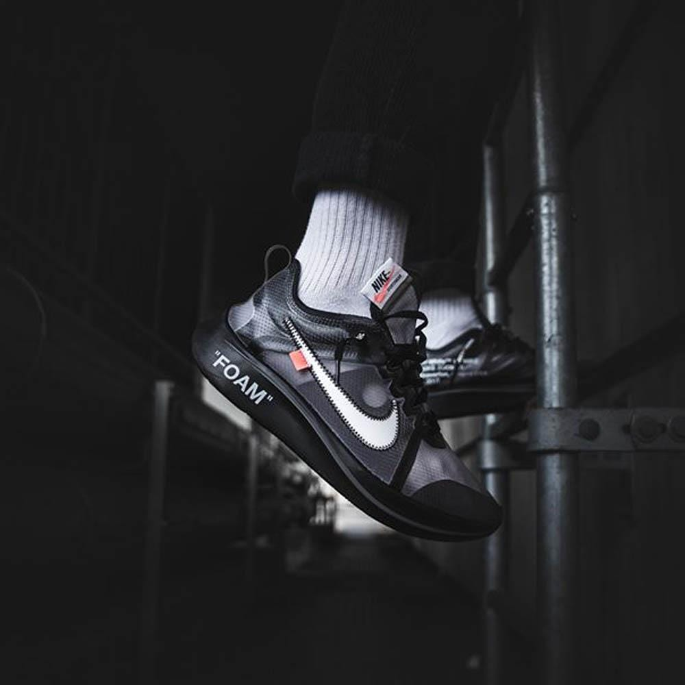 Off-White x Nike Zoom Fly SP Black - Kick Game