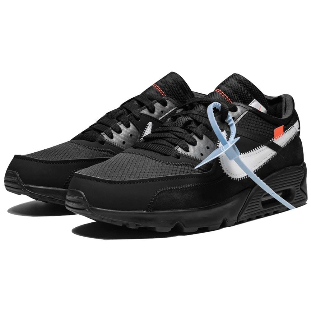 Off-White x Nike Air Max 90 Black - Kick Game