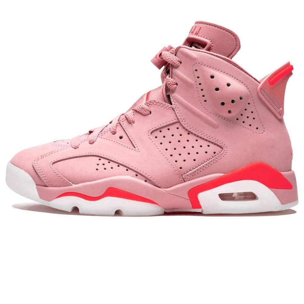 best service 6cb90 390df Aleali May x Wmns Air Jordan 6 Retro 'Millennial Pink'
